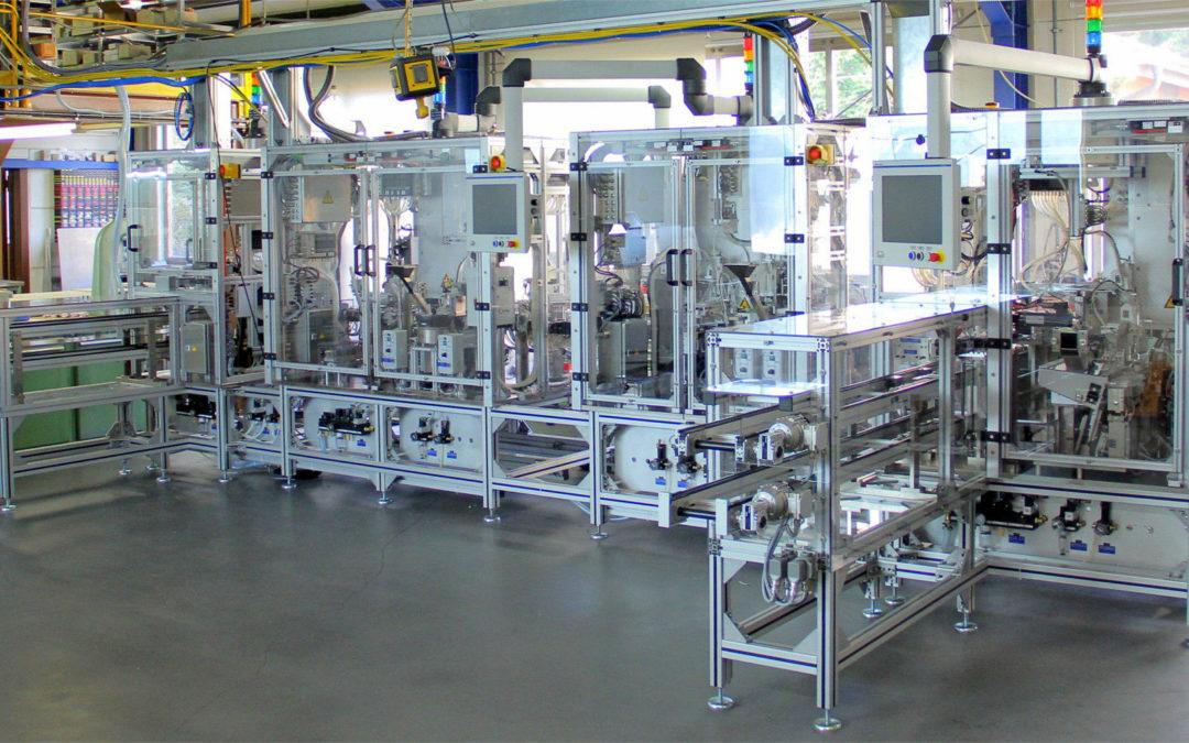 Montagelinie für Einspritzventilnadeln